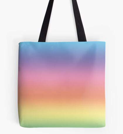 Ombre Pastel by Julie Everhart Tote Bag