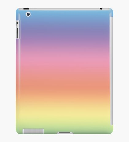Ombre Pastel by Julie Everhart iPad Case/Skin