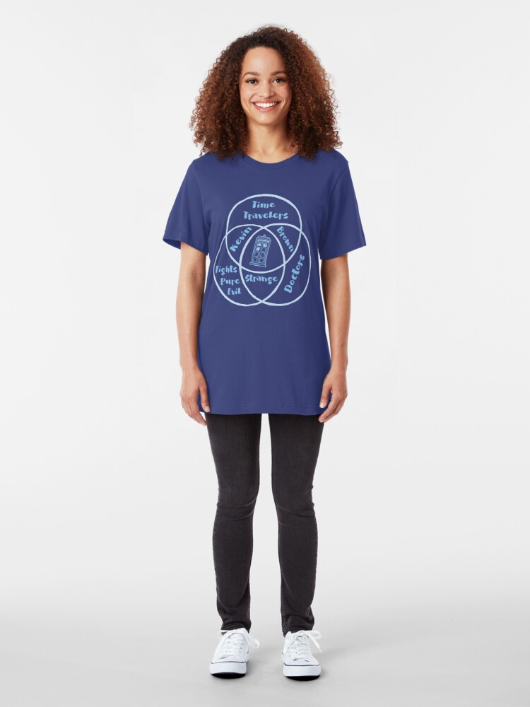 Alternate view of Who, What, Venn Slim Fit T-Shirt