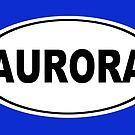 Aurora California Oval Design by KWJphotoart