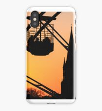 Ferris Wheel at Sunset iPhone Case