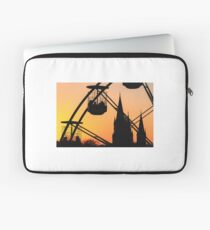Ferris Wheel at Sunset Laptop Sleeve