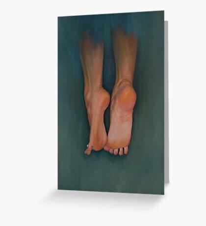 Flying Feet Carte de vœux