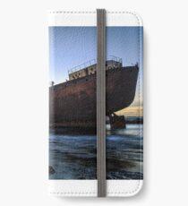 Telamon, AKA Temple Hall Shipwreck iPhone Wallet/Case/Skin