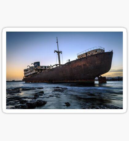 Telamon, AKA Temple Hall Shipwreck Sticker