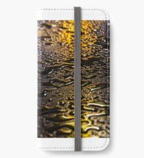 Rain Drops in Color iPhone Wallet/Case/Skin