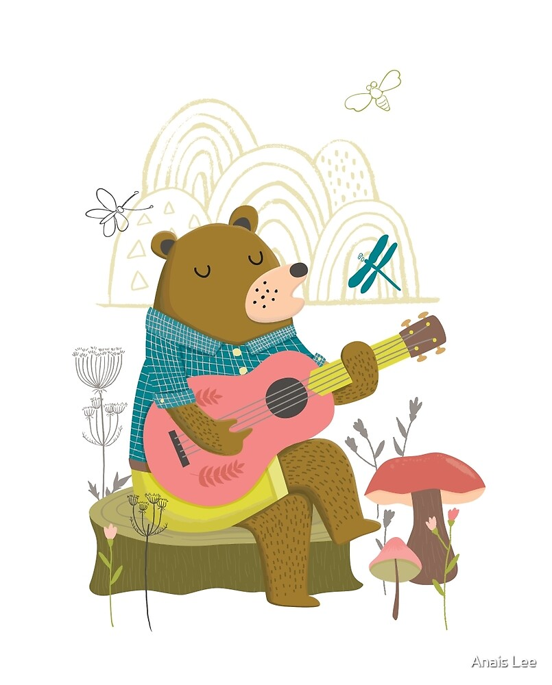 Happy Bear Day by Anais Lee