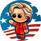 POTUS HILLARY Pooterbelly  by Pat McNeely