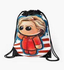 POTUS HILLARY Pooterbelly  Drawstring Bag
