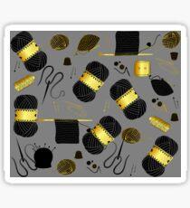 Golden Yarn Sticker