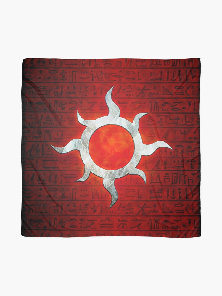 Alternate view of Legion of the Sun Scarf