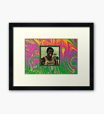 Flatbush Zombies Magic Johnson Framed Print