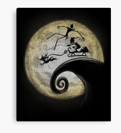 Nightmare Before Grinchmas Canvas Print