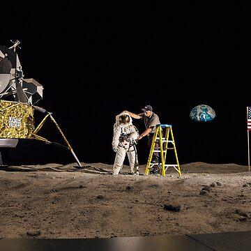 NASA Lies Moon Hoax by ODDTV