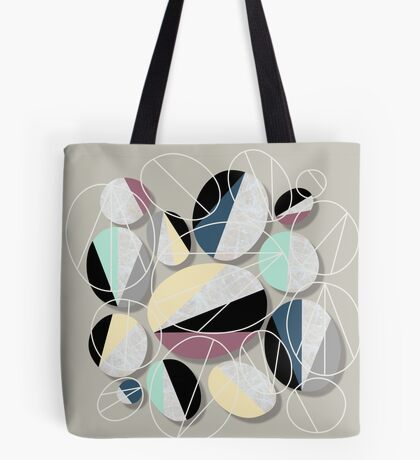 Stones and Outlines Tote Bag