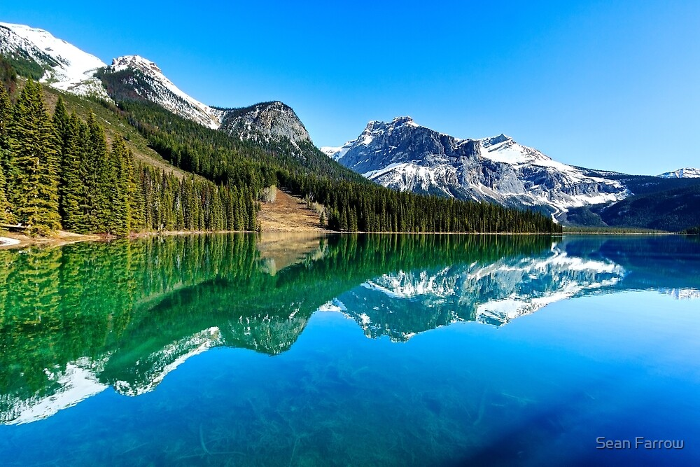 Lake of the Emerald City - British Columbia, Canada by Sean Farrow