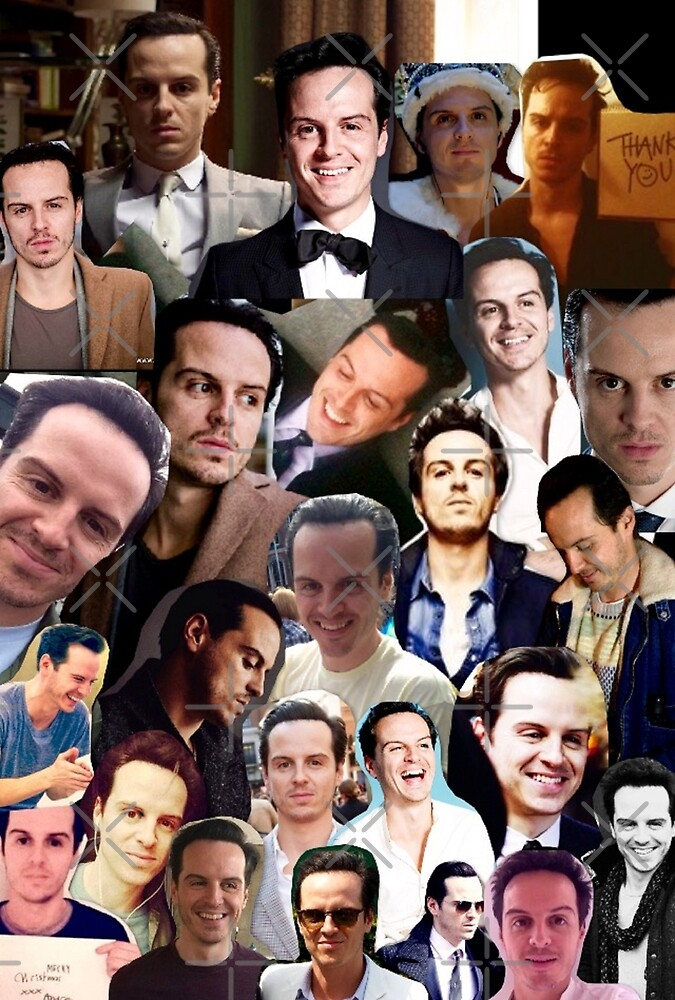 Andrew Scott Collage by unicorndeni
