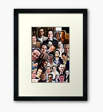Andrew Scott Collage Framed Print