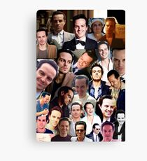 Andrew Scott Collage Canvas Print