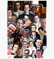 Andrew Scott Collage Poster