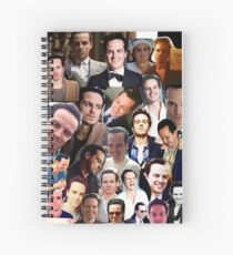 Andrew Scott Collage Spiral Notebook