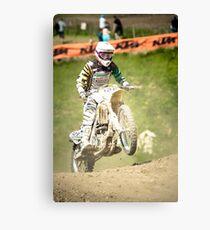 Motorcross Canvas Print