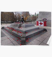 Canadian War Memorial in Ottawa, Canada Poster