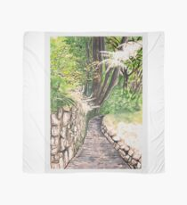 Forest Trail Joining Lynton and Lynmouth  Scarf