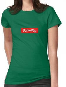 Schwifty Womens Fitted T-Shirt