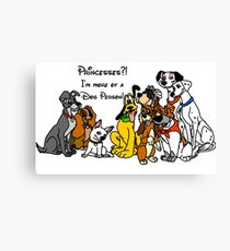 Dog Person Canvas Print