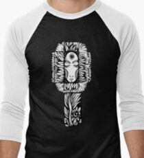 Night Flower Men's Baseball ¾ T-Shirt
