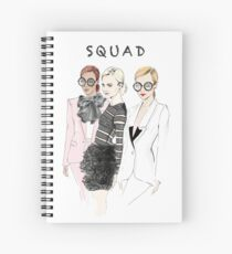 SQUAD Spiral Notebook