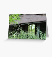 Hidden Treasure House photography Greeting Card