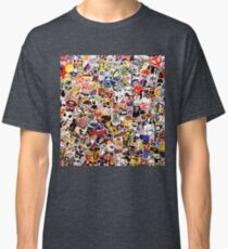 Pop Art Sticker Graffiti   Classic T-Shirt