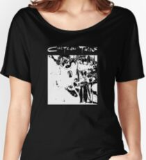 Cocteau Twins - Black and White Women's Relaxed Fit T-Shirt