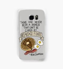 Breakfast Foods Samsung Galaxy Case/Skin