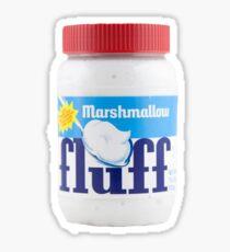 Fluff Marshmallow Creme Fluffernutter Sticker