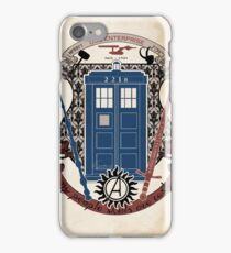 crest of the knight of fandom (a LOT of fandoms actually ;) iPhone Case/Skin