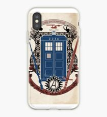 crest of the knight of fandom (a LOT of fandoms actually ;) iPhone Case