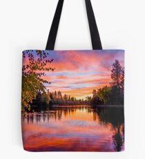 First Brilliance: Mirror Pond Tote Bag