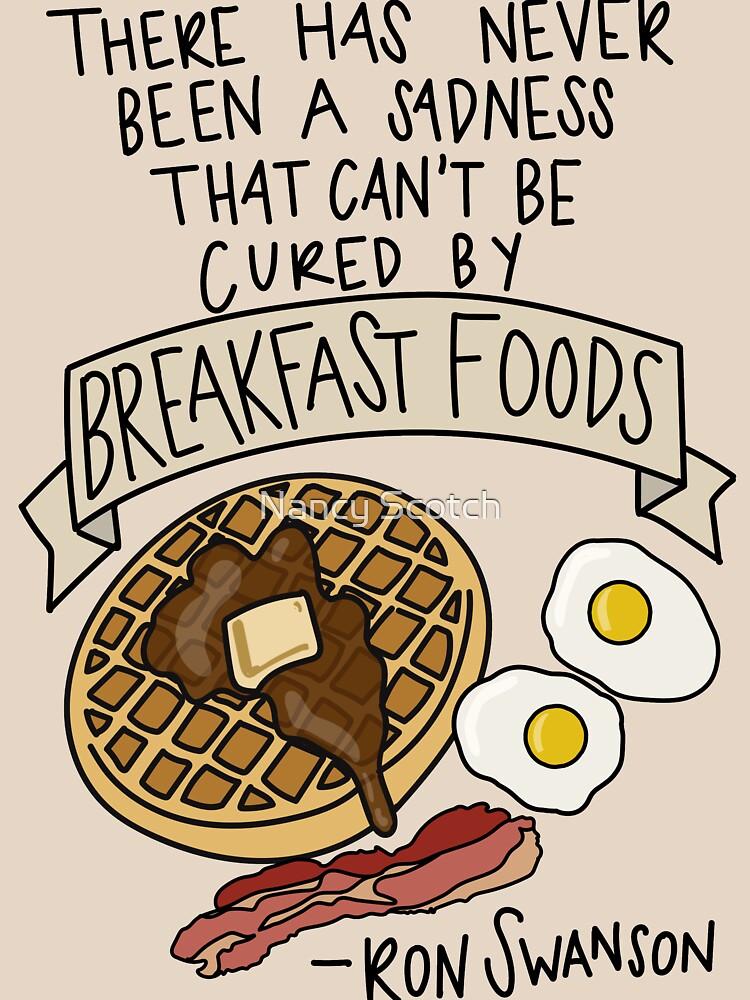Frühstück Lebensmittel von FancyDancyNancy