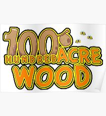 Hundred acre wood Poster