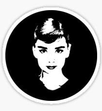 Audrey Icon - One:Print Sticker