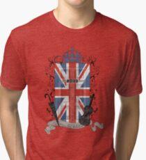 Sherlock Holmes inspiriert Wappen Vintage T-Shirt