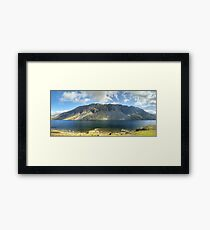 Wastwater..The Screes Framed Print