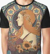 Amy Pond art nouveau Graphic T-Shirt