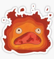 Shrieking Calcifer Sticker