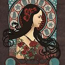 Clara Oswald art nouveau by koroa
