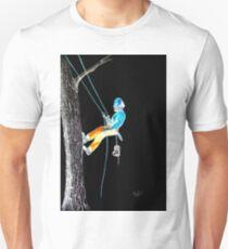 Neon Arborist Tree Surgeon Lumberjack Logger Stihl chainsaw Unisex T-Shirt
