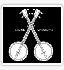 Banjo Avett Brothers Sticker